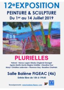 Exposition Plurielles Figeac 2019