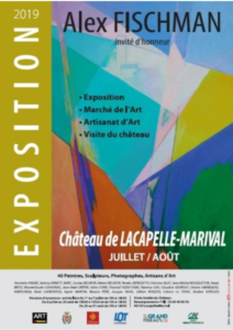 Exposition Chateau Lacapelle Marival 2019