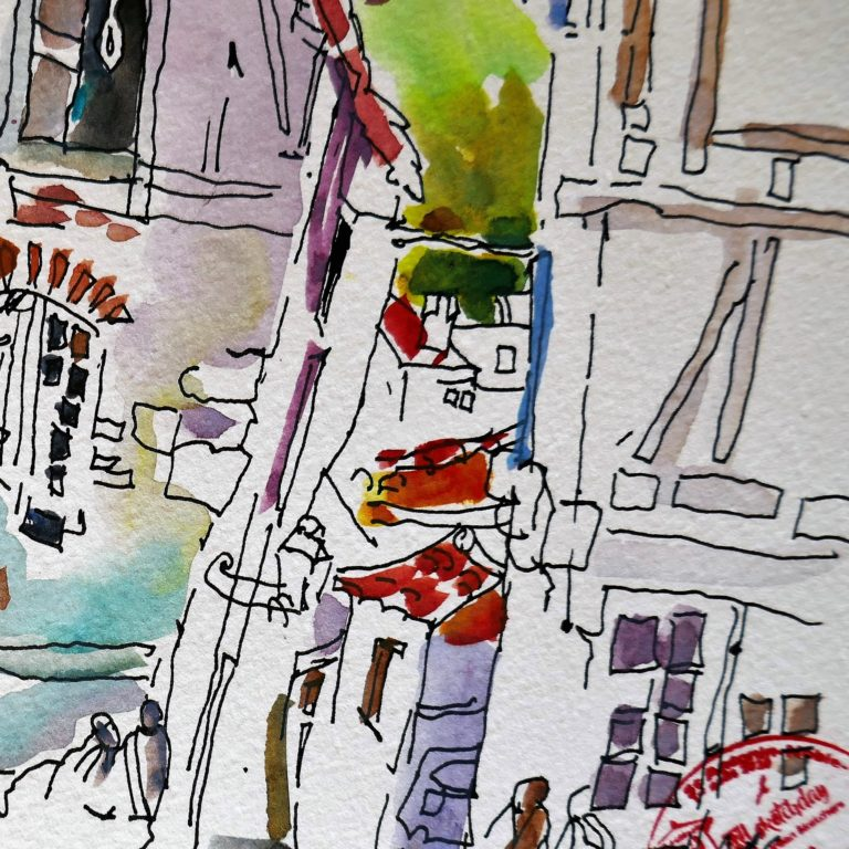 agnes martin genty urban sketchers