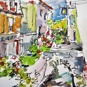 agnes martin genty peintre croquis rencontre urban sketchers saint antonin noble val rencontre dessinateur aquarelle