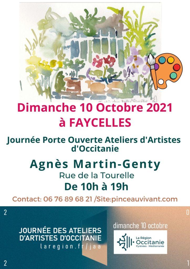 Journée porte ouverte des ateliers d'artistes d'occitanie